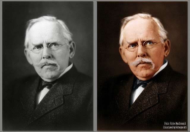 Jacob Riis (1849–1914) by Ian Pirie MacDonald, Colorized