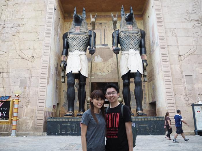 Universal Studios Singapore - Ancient Egypt   joanne-khoo.com