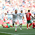Half-time score Portugal 1 – 0 Morocco Ronaldo on point once more.
