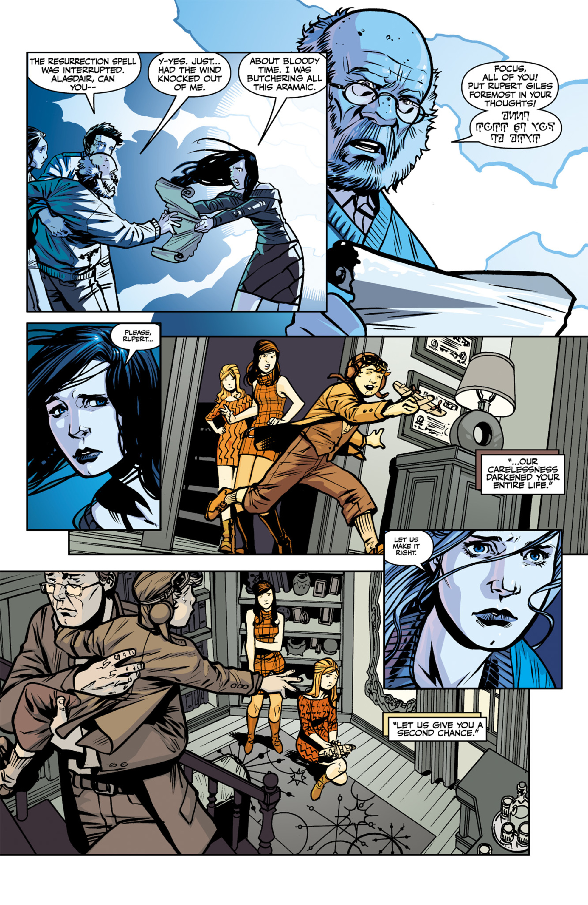 Read online Angel and Faith comic -  Issue #22 - 5