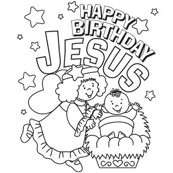 Dibujos Cristianos para colorear: The Birth of Jesus ...