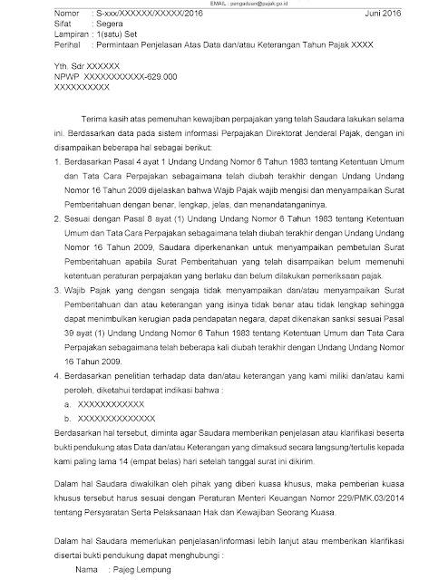 25+ Contoh surat balasan untuk kantor pajak terbaru yang baik