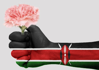 100% African Flower Power, the flower industry in 2015 earned Kenya Shillings 62 billion which equals around 59 million US dollars, exporting 122,825 metric tons.