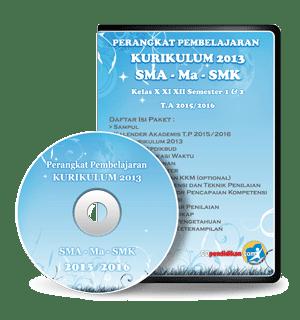 Perangkat Pembelajaran SMA/ MA/ SMK Kurikulum 2013 Revisi 2016