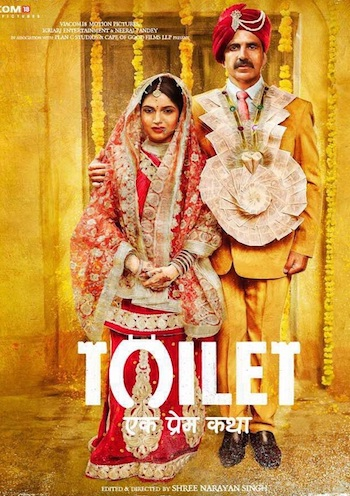 Toilet Ek Prem Katha 2017 pDVDRip Hindi 700MB