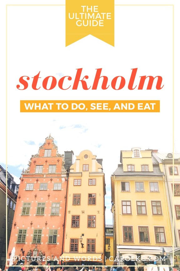 4 Days in Stockholm: What to Do, See and Eat