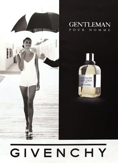 Givenchy Gentleman pour homme - Adv 1987