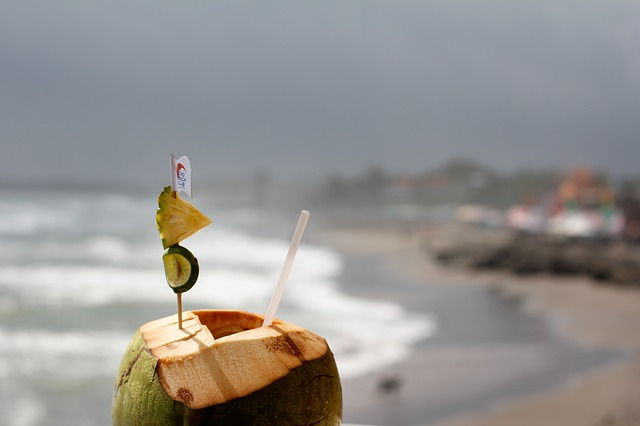 There is nothing that says Goa more than drinking fresh coconut water while walking along the beach. It is a delicious and refreshing low-calorie drink.