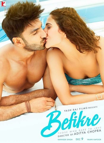 Befikre 2016 Hindi 720p WEB-DL 900mb