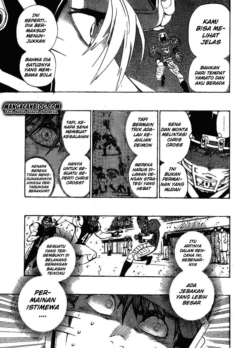 Manga Eyeshield 21 Bahasa Indonesia Chapter 34
