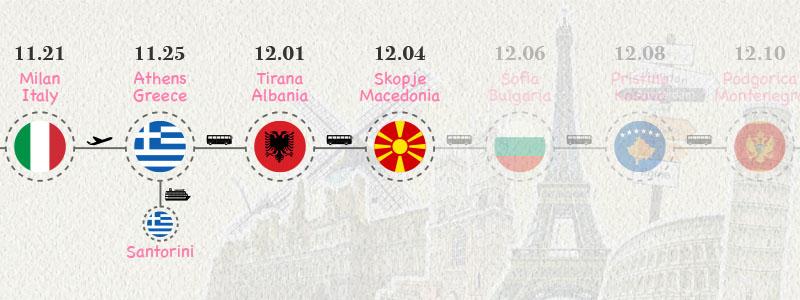 [北馬其頓.史高比耶] 高大氣派上檔次的政府機關建築 土豪氣勢強烈市區景點