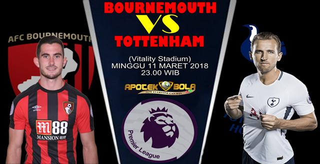 Prediksi Bournemouth vs Tottenham 11 Maret 2018