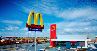 In 1995 McDonald's opened its first restaurant in South Africa