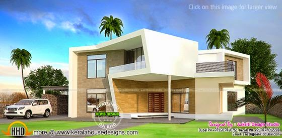 New concept house plan