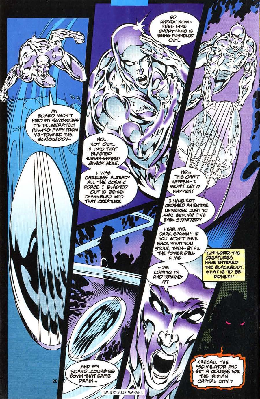 Silver Surfer (1987) Issue #113 #121 - English 22