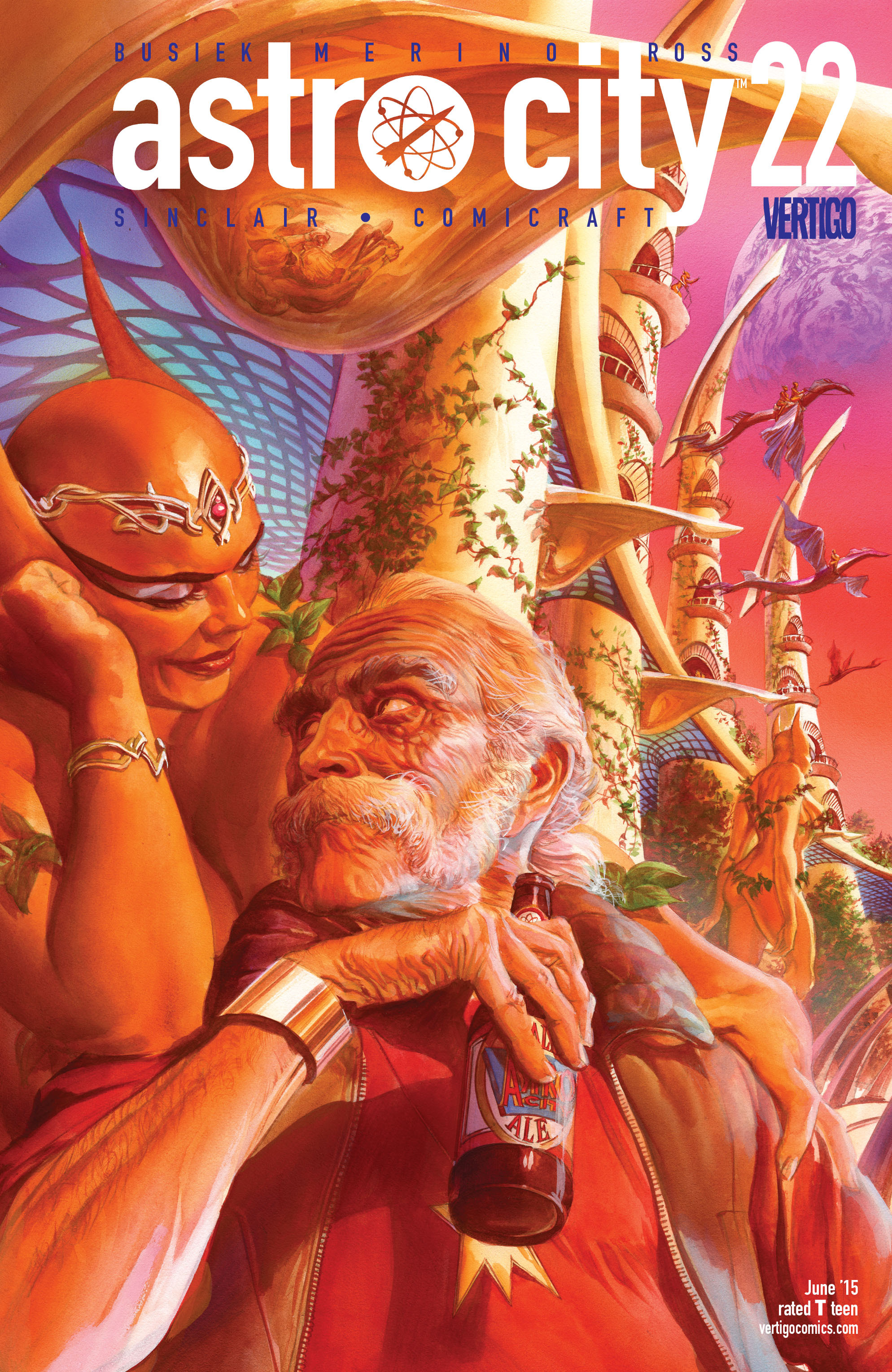 Read online Astro City comic -  Issue #22 - 1