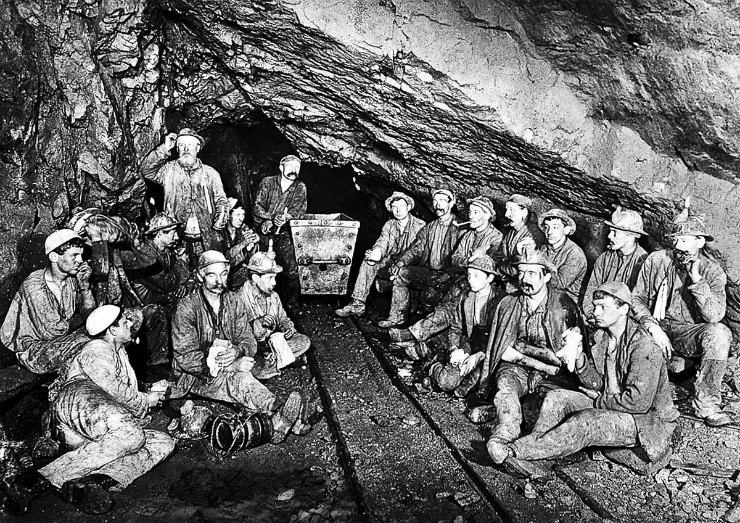 Cornish Tin Miners
