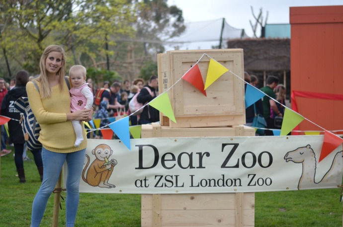 dear zoo trail, London Zoo, dear zoo at ZSL London zoo,