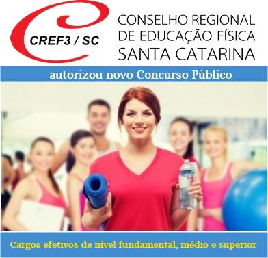 edital novo Concurso Público CREFSC 2018