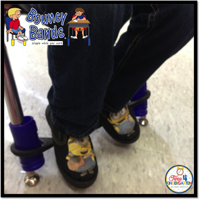 Bouncy Bands, Time4Kindergarten.com, ADHD in kindergarten, active kindergarteners
