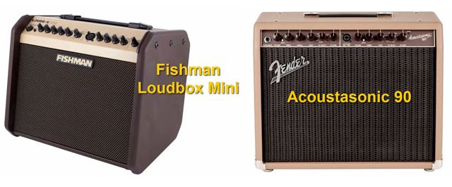 Fishman Loudbox Mini Vs Fender Acoustasonic 90
