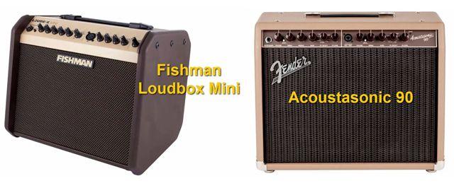Fishman Loudbox Mini Vs Fender Acoustasonic 90