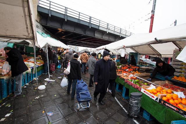 Mercato alla gare du midi