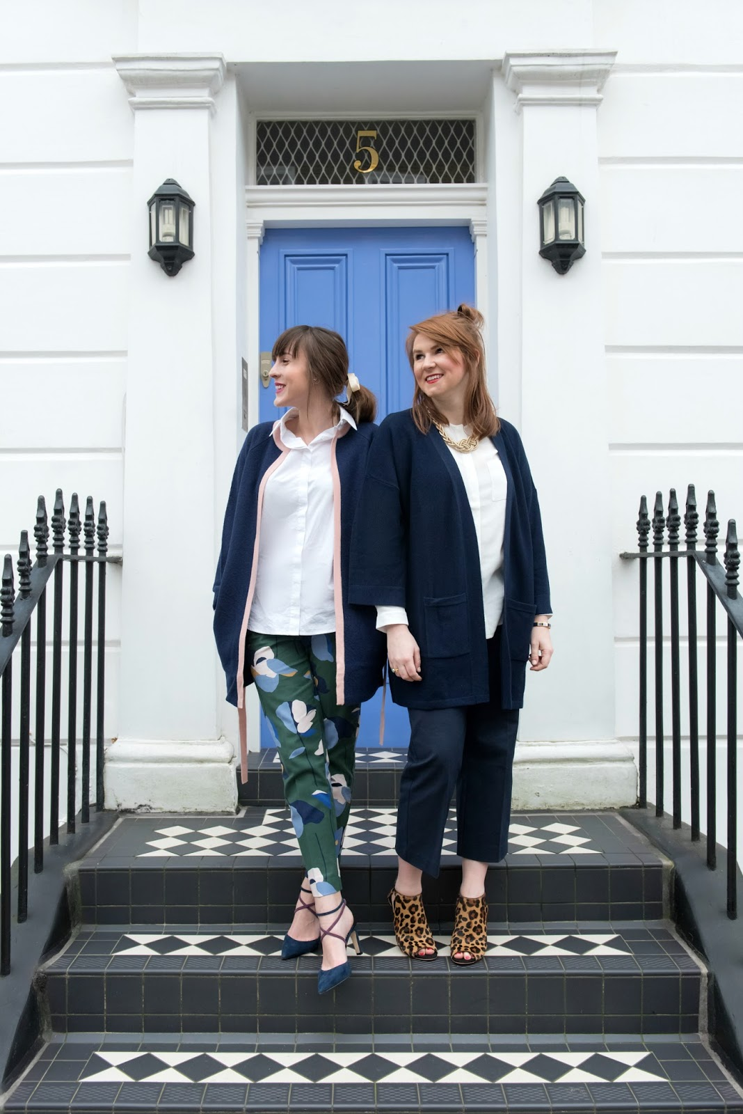 boden workwear richmond print trousers