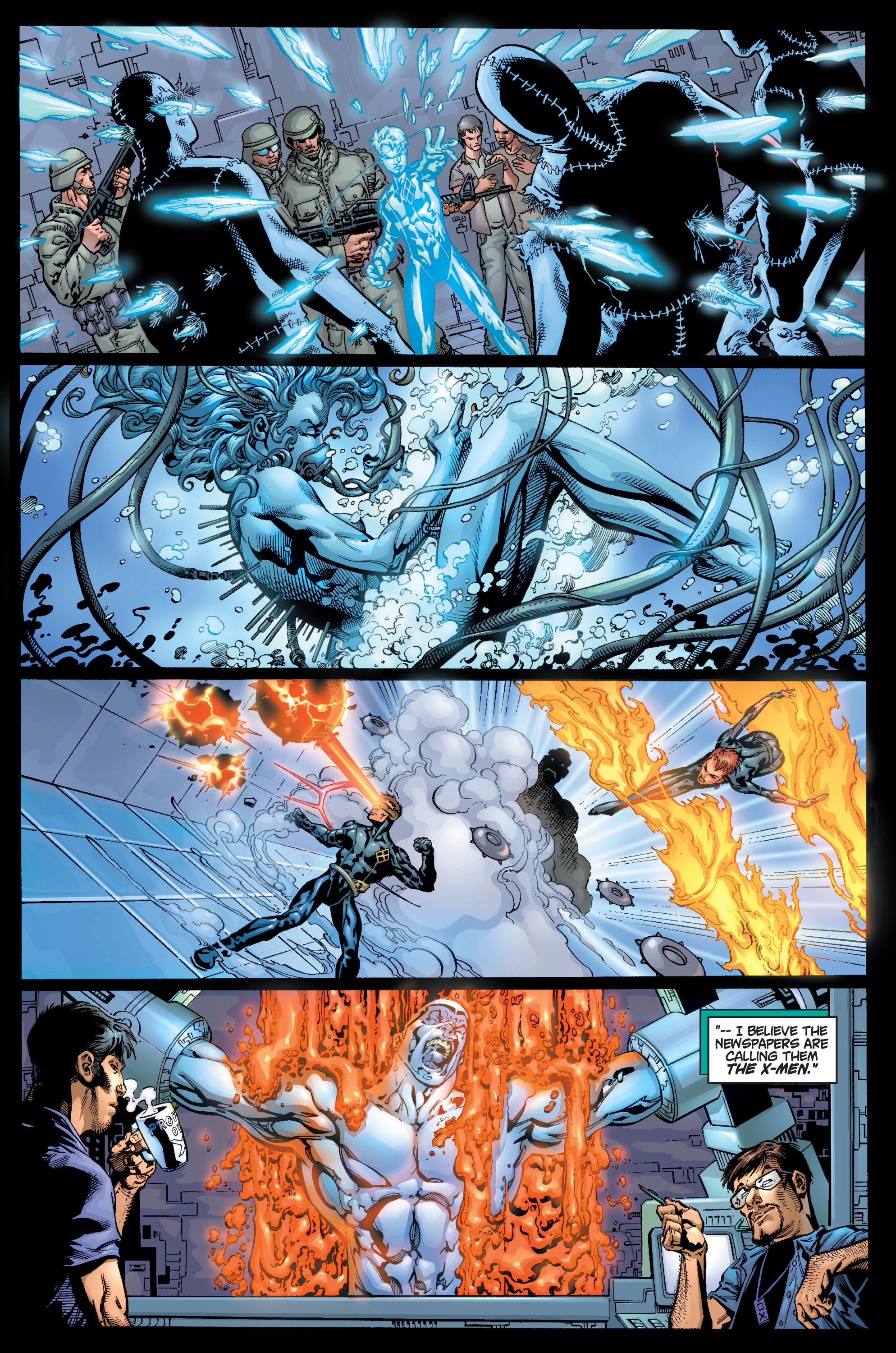 Read online Ultimate X-Men comic -  Issue #9 - 13