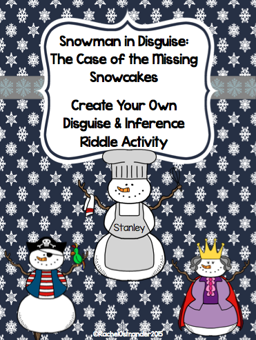 Snowmen In Disguise Inference Activity Mrs O Knows