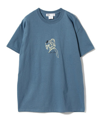 Mohawk Drawing T shirt by Tokyo Cultuart by BEAMS and Nozomi Koh aka Nozomi Takayama