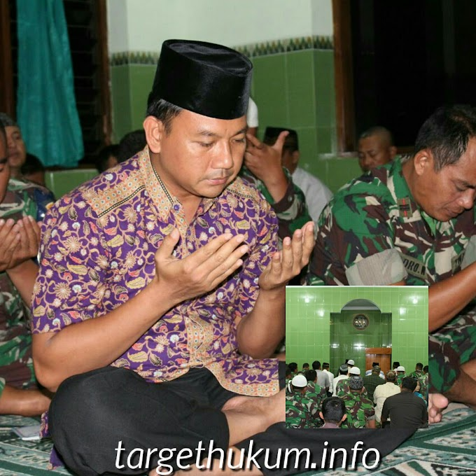 Dandim 0718 Pati Mengajak Seluruh Personel Agar Tingkatkan Iman Dan Taqwa