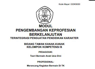 Geveducation:  Modul Pengembagan Keprofesian Berkelanjutan (PKB) Kelompok Kompetensi B