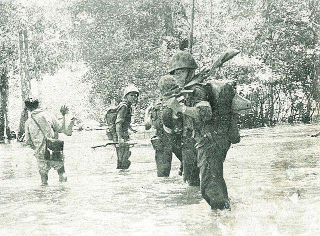 Korps Marinir Indonesia Memerangi gerilyawan Permesta, 1950-1960an