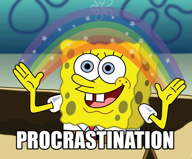 Stop Procrastinating