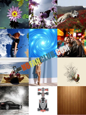 Beautiful and Lovely 360 Wallpapers Mega Pack - Nokia E7 - Portrait and Landscape