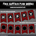 Free Buffalo Plaid Banner Printable - DIY Banner