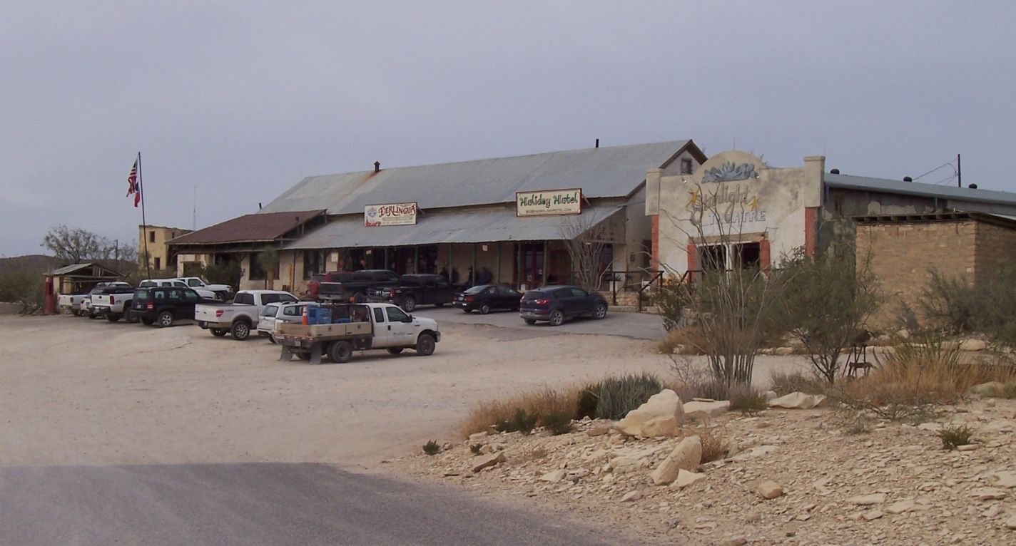 Happy Trails Terlingua Ghost Town