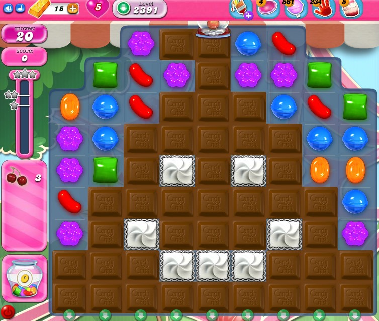 Candy Crush Saga level 2391