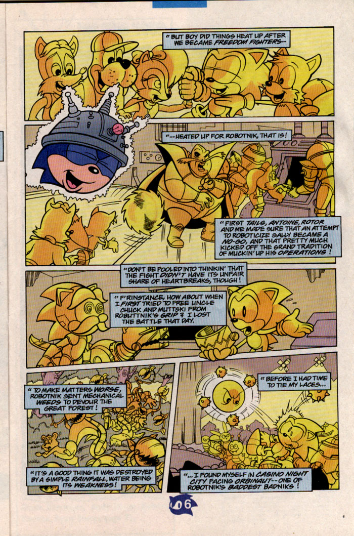 Read online Sonic The Hedgehog comic -  Issue #57 - 7