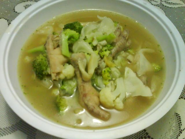Resepi Sup Kaki Ayam