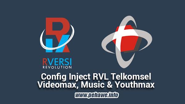 Config Inject RVL Videomax, Youthmax dan Musicmax