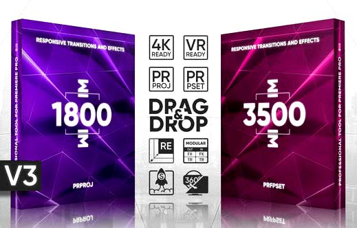 5200+ Transitions Presets Pack