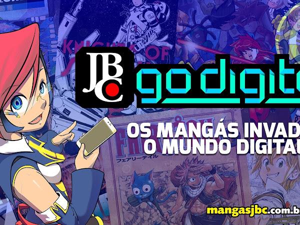 JBC Go Digital: mangás também em e-book