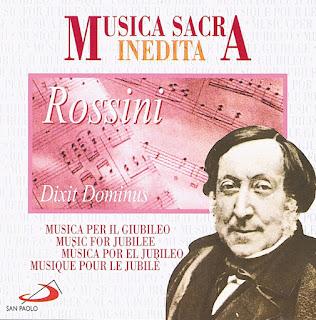 Musica Sacra Inedita: Gioachino Rossini