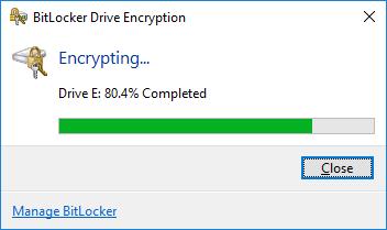 Đặt mật khẩu ổ cứng bằng BitLocker - H08