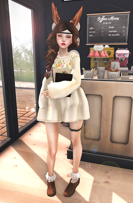 Fashion is Sweet ♡: Outfit of the Day #72: Quiet Day at the Cafe
