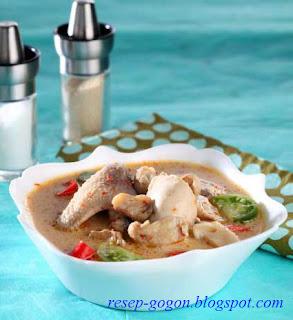 Resep Sup Ayam Santan Tomat