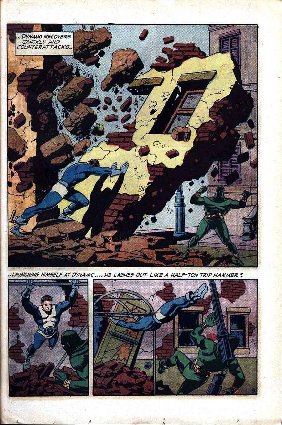 Thunder Agents v1 #2 tower silver age 1960s comic book page art by Wally Wood