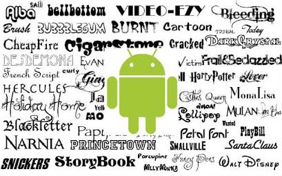 Download Kumpulan 73 Fonts TTF Gratis Dan Keren Untuk Android